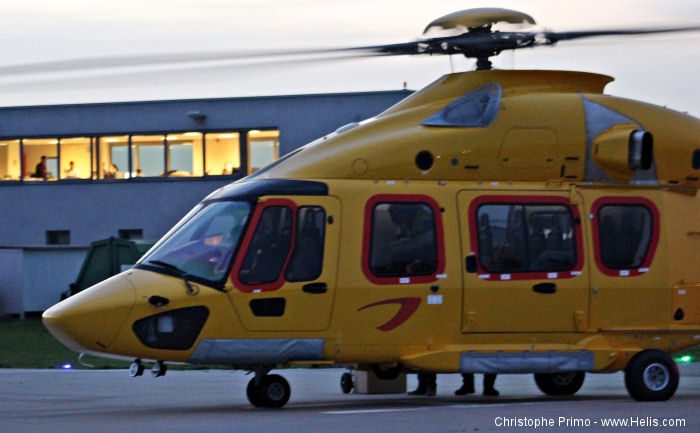 After five years Belgium s NHV established a new base in Aberdeen, Scotland. Two EC175/H175 helicopters will reinforce the Aberdeen's fleet