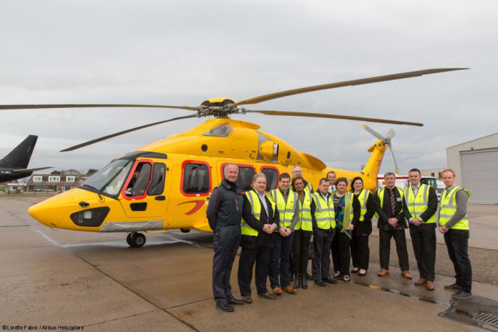NHV strengthens its presence in the UK providing Aberdeen base with new Airbus H175 helicopters
