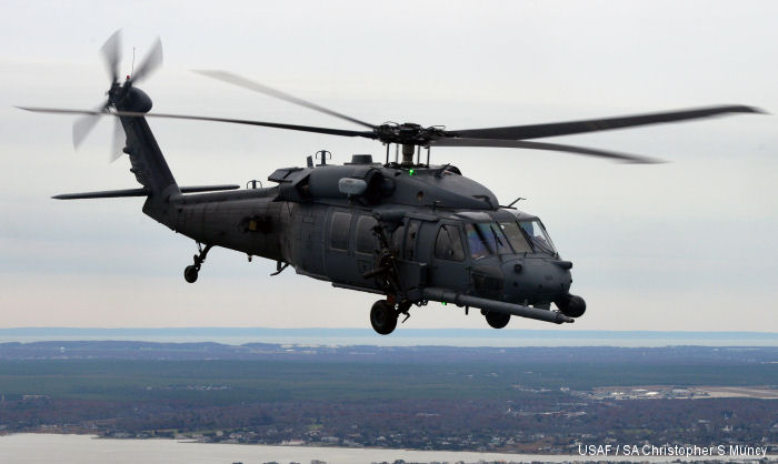 HH-60G Pavehawk from 101st Rescue Squadron, 106th Rescue Wing, New York Air National Guard, US Air Force