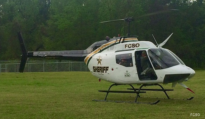 After years of research and effort, Florence County in South Carolina officially entered the aviation age with the unveiling of its newly acquired Bell OH-58A Kiowa helicopter.