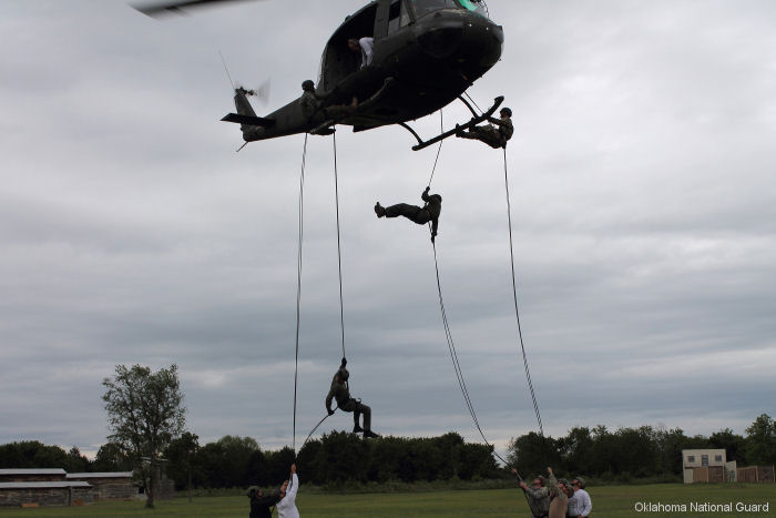 Oklahoma National Guard Counterdrug Program soldiers and the Oklahoma Bureau of Narcotics (OBN) conducted the Oklahoma Narcotics Assault Course (NARC)