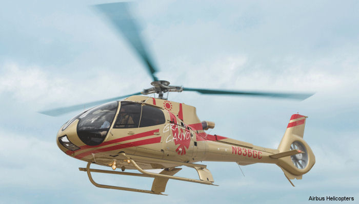 Papillon <a href=/database/news/papillon_50th2/>Golden Helicopter</a> 50th Anniversary H130 / EC130T2