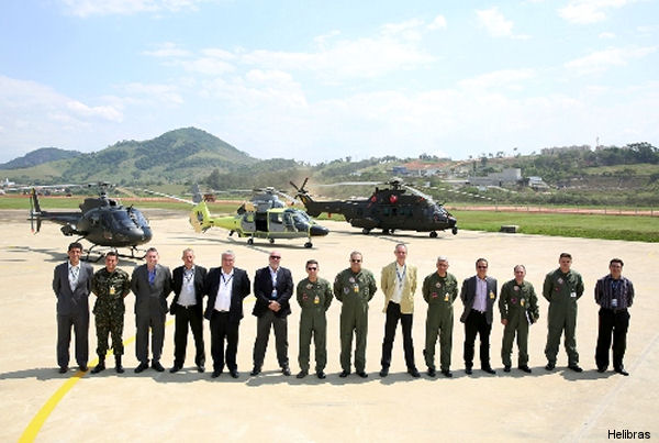First Flight of the Helibras Panther K2 Modernized in Brazil