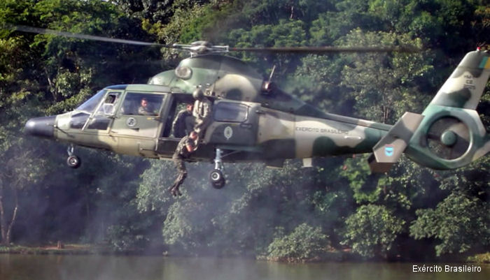 Sagem (Safran) signed Intention to Proceed agreement with Helibras to supply flight control system for the modernized Brazilian Army Panther and also for the new EC725 Caracal