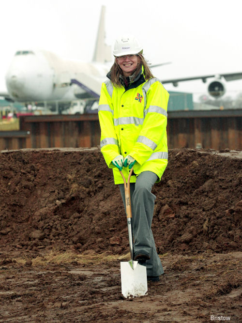 Work Starts on New Search and Rescue Helicopter Base at Glasgow Prestwick Airport