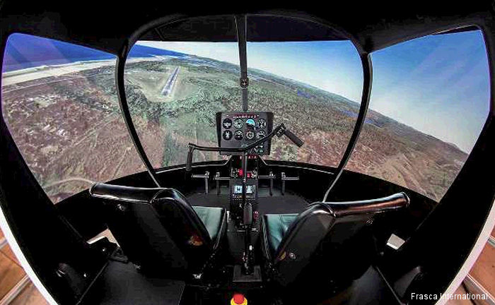 Frasca International has received a contract for an Level 5 R44 Helicopter Flight Training Device (FTD) from Central Oregon Community College (COCC), Bend, Oregon.