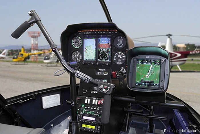 The same Genesys Aerosystems HeliSAS (Helicopter Stability Augmentation System) and autopilot that was FAA approved on the R66 earlier this year is now available on Robinson's top-selling R44.