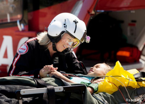 Reach Air Medical Services Completes 100,000 Successful Patient Transports