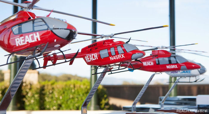 REACH Air Medical Services has been named Program of the Year by the Association of Air Medical Services (AAMS). Sponsored by Airbus Helicopters, Inc.