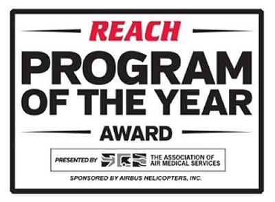 REACH Air Medical Services Named Program of the Year