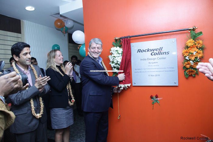 Rockwell Collins has opened a new, expanded facility in Bangalore, India, that bolsters the company's presence in the country.