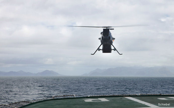 Camcopter S-100 completes successful trials for the South African Navy