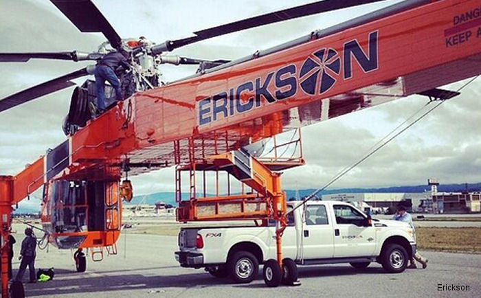 Erickson was contracted by Canadian Government of Nunavut and Qulliq Energy Corp to transport generators to Pangnirtung to restore power after a fire extensively damaged the community's power plant