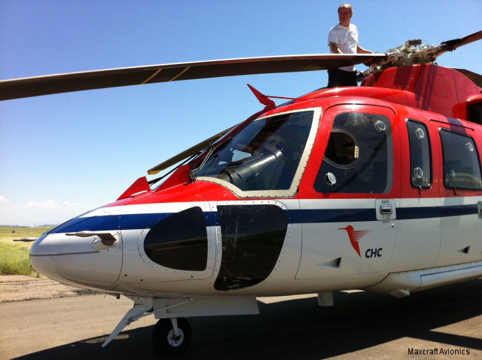 Maxcraft Avionics received Transport Canada Supplemental Type Certificate (STC) for installation of the Garmin GTX 33H Mode-S Transponder in Sikorksy S-76 C/C+/C++ helicopters