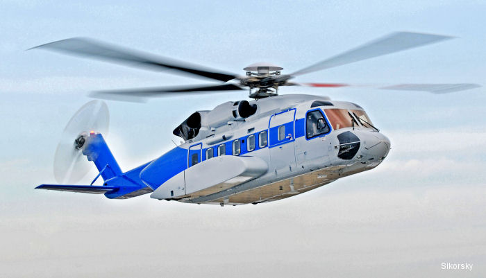 The Federal Aviation Administration (FAA) has certified a gross weight expansion to carry an additional 1,200 pounds of payload as well as the Traffic Collision Avoidance System (TCAS) II for S-92