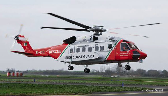 Irish Coast Guard Completes Record Number of Missions with New Helicopter Fleet