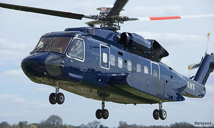 UK Starspeed Ltd hosted its first Open Day last week to show off its latest arrival, the Sikorsky S-92 helicopter.