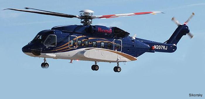 Sikorsky Aircraft announced the official delivery of two S-92 helicopters to Bond Helicopters Australia at the 2015 Avalon Airshow.