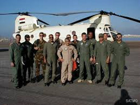 US Army' training teams for the CH-47D Chinook (Sept.1998-Dec.2014) and AH-64D Apache (Febr.1993-Jun.2015) concluded their work and departed from Egypt