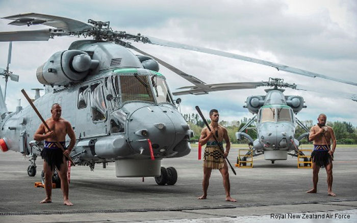 New Kaman SH-2G(I) Seasprite helicopters were handed over to the New Zealand Defence Force in a ceremony at RNZAF Base Auckland. The SH-2G(I) replaces the SH-2G model.