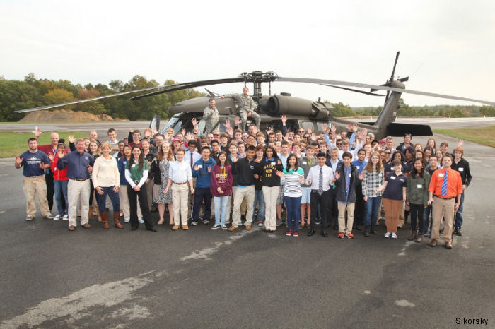 Sikorsky Aircraft launched its 2015 Science, Technology, Engineering, and Math (STEM) Challenge at the Chester Airport for Connecticut high school students.