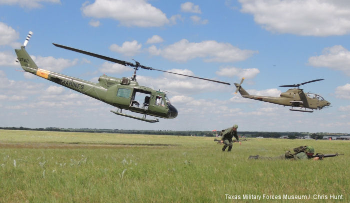 The Texas Military Forces Museum's Living History Detachment deployed  to Temple to take part in the annual Central Texas Air Show, May 2-3