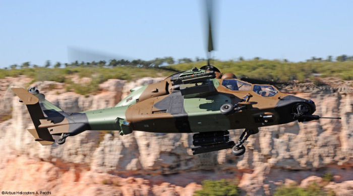 French Army (Aviation Légère de l Armée de Terre, ALAT) will eventually operate a fleet of 67 Tigre helicopters in the HAP and HAD variants