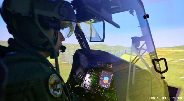 Organisation for Joint Armament Cooperation (OCCAR) awarded Thales /  Rheinmetall a contract to supply or upgrade 20 Tiger combat helicopter simulators for the French and German Armed Forces.