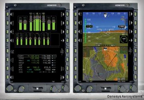 Genesys Inks Deal With AgustaWestland For EFIS On New AW109 Trekker