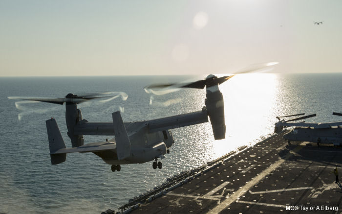 The impossible bird: The MV-22 Osprey tiltrotor aircraft