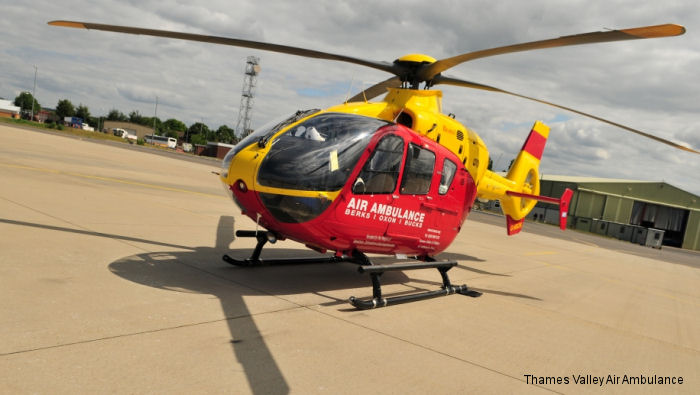 Thames Valley Air Ambulance (TVAA) officially open the upgraded operational base and Helicopter Emergency Medical Services (HEMS) training facility in RAF Benson, Oxfordshire, UK