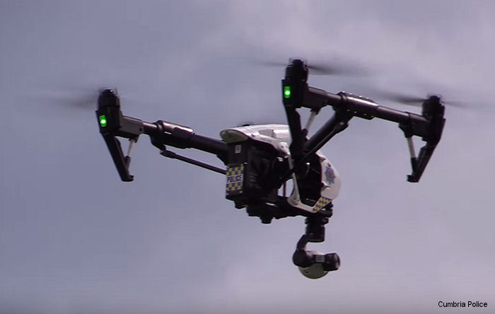 Police in Cumbria, in the UK, will now be able to use unmanned aerial vehicles (UAVs) to help tackle crime and keep people safe.