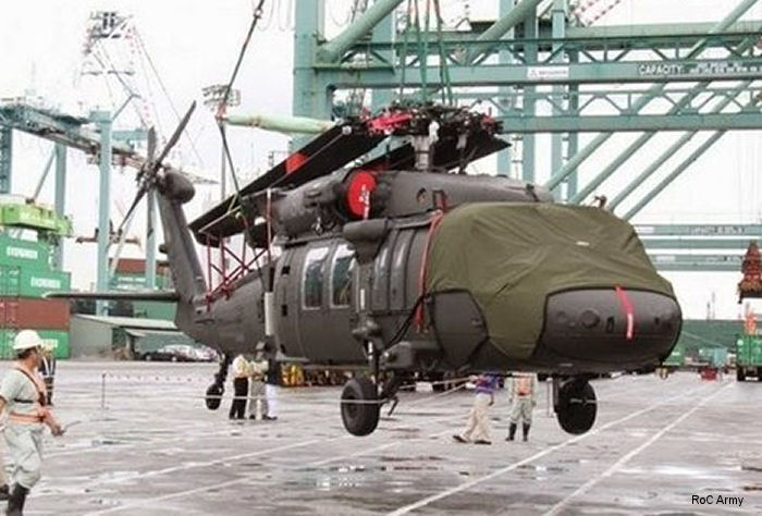 Sikorsky awarded foreign military sales (FMS) contract for Taiwan to trained pilots, maintenance operations and support the fielding of the new UH-60M an storage of four UH-60s