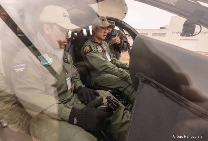 First Royal Thai Army Pilots, Maintenance Technicians Complete Training Course to Operate UH-72A Lakotas for Thailand