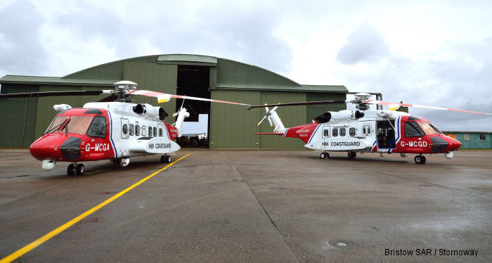 UK SAR marks milestones as expansion proceeds on schedule and under the Gap SAR contract with the HM Coast Guard, both the Sumburgh and Stornoway bases completed a busy first year of service.