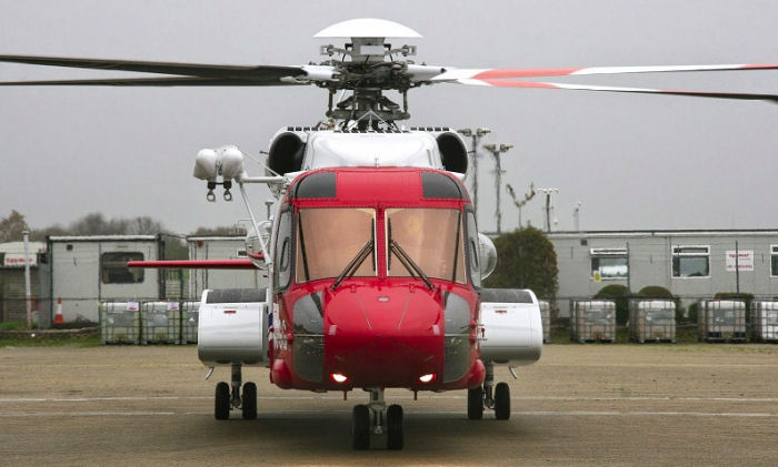 The launch of the civilian UK search and rescue (SAR) helicopter service was marked February 26, 2015 in a ceremony held at the new SAR base at Humberside Airport.