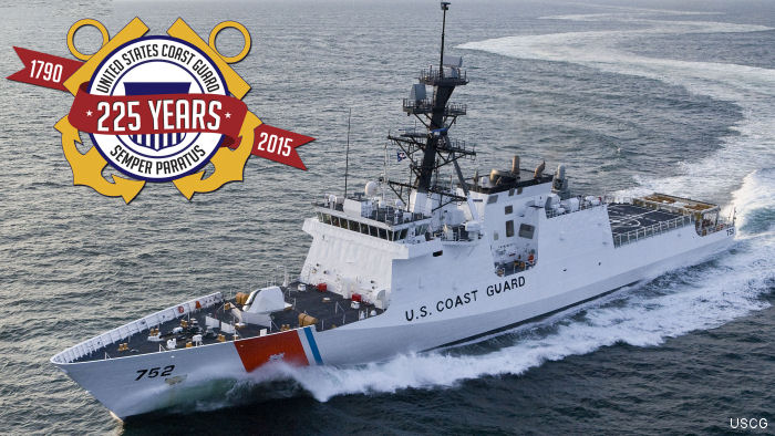 Founded on August 4, 1790, the U.S. Coast Guard is celebrating 225 years of service to the nation.