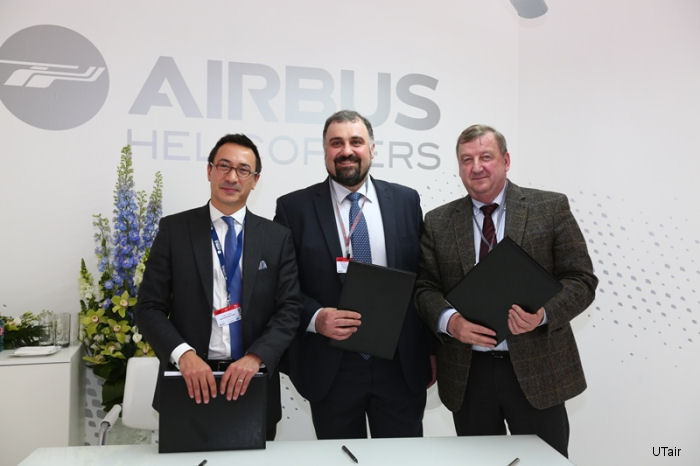 Certification for the Training Center enables UTAir to be a part the Airbus Helicopters international network of training centers.