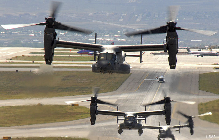 U.S. Defense Security Cooperation Agency delivered required certification notifying Congress of possible sale of 17 V-22B Block C Ospreys tilt-rotors to Japan for an estimated cost of $3 billion