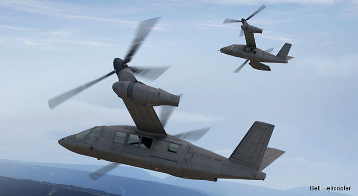 Bell Helicopter and Spirit AeroSystems Inc announced major assembly has started on the Bell V-280 Valor advanced tiltrotor fuselage. First flight expected second half of 2017