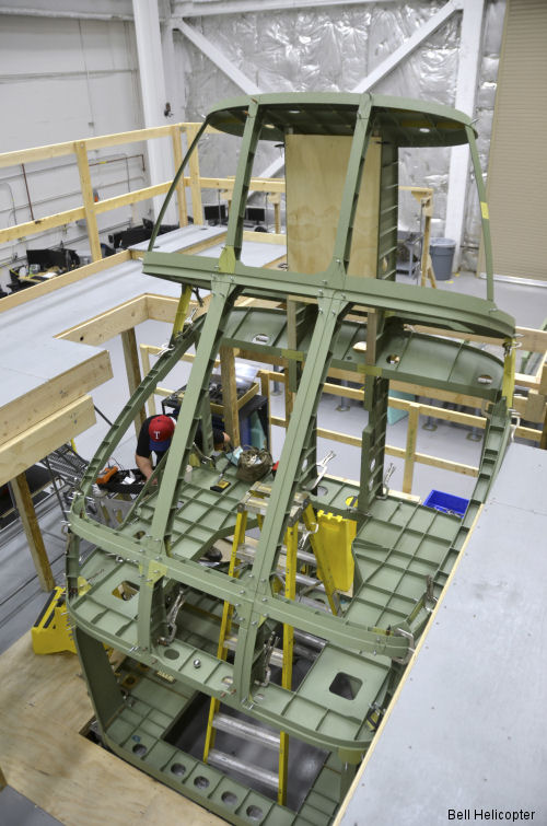 Major Assembly Starts on Bell V-280 Valor Fuselage