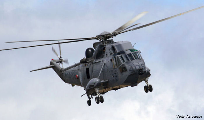 Vector Aerospace signs agreement with the Department of National Defense to perform MRO for Sea King fleet engines