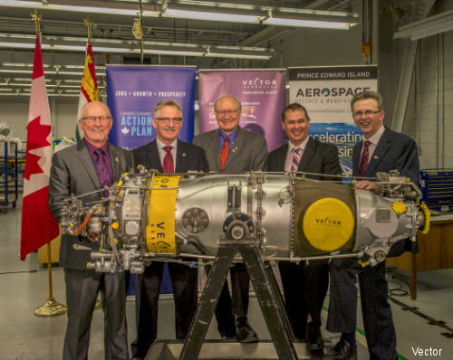 Vector Aerospace Announces Investment in New Canadian Turboprop Test Cell: Extends lease on world-class turbine engine MRO facility with Slemon Park Corporation
