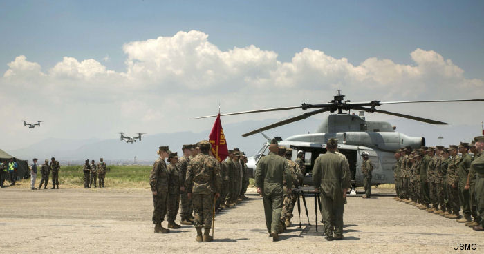 A ceremony honoring the six Marines who lost their lives on the <a href=/database/modelorg/1081/>UH-1Y</a> mishap during the Nepal Eartquake relief last May will be conducted at the U.S. Embassy