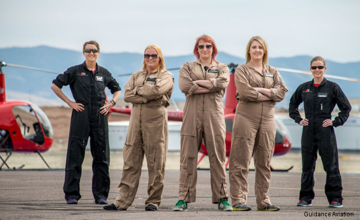 Whirly-Girls is an international organization dedicated to promoting women in helicopter aviation founded in 1955