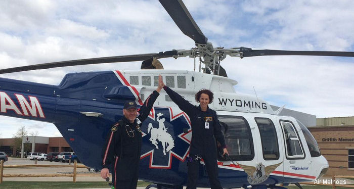 New Wyoming LifeFlight Base at Sheridan Memorial Hospital