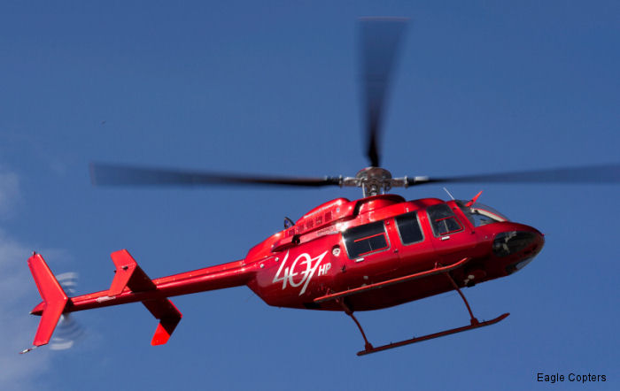 Eagle Copters 407HP receives FAA approval for IBF