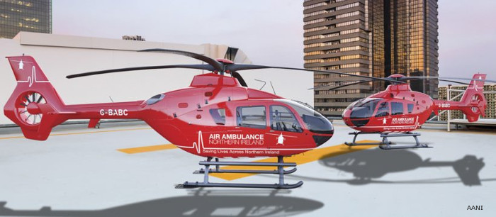 Air Ambulance Northern Ireland selected Babcock Mission Critical Services Onshore (ex Bond) to provide 2 HEMS helicopters for the next 3 years.