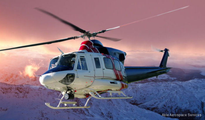 Able Aerospace Services, a Textron Inc. company, adds Agusta/Bell 412 component repairs and overhauls to its maintenance, repair and overhaul (MRO) capabilities