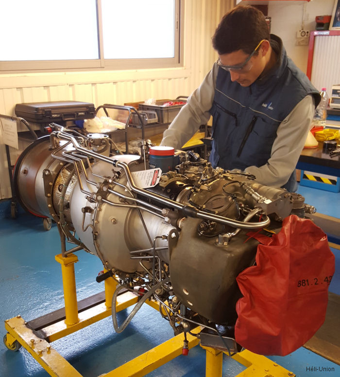 Héli-Union and Turbomeca (Safran) partnership for helicopter equipment distribution within the African market covering classic engines up to Makila model.